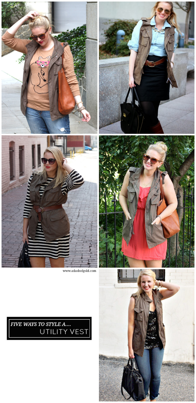 how to style a military vest, how to wear a utility vest