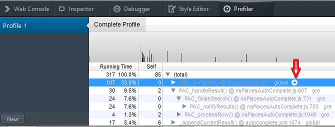 developer option profiler