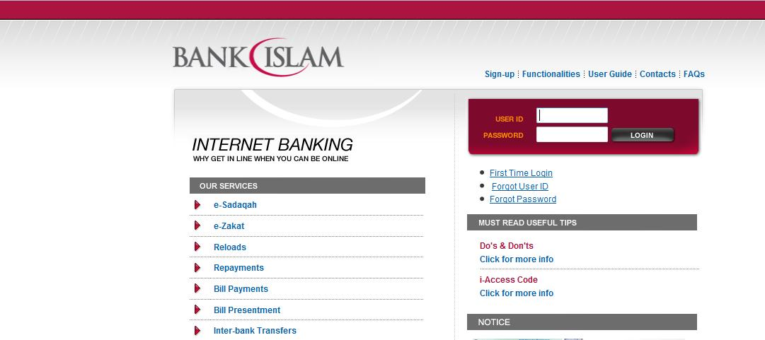 print bank statement bank islam atm