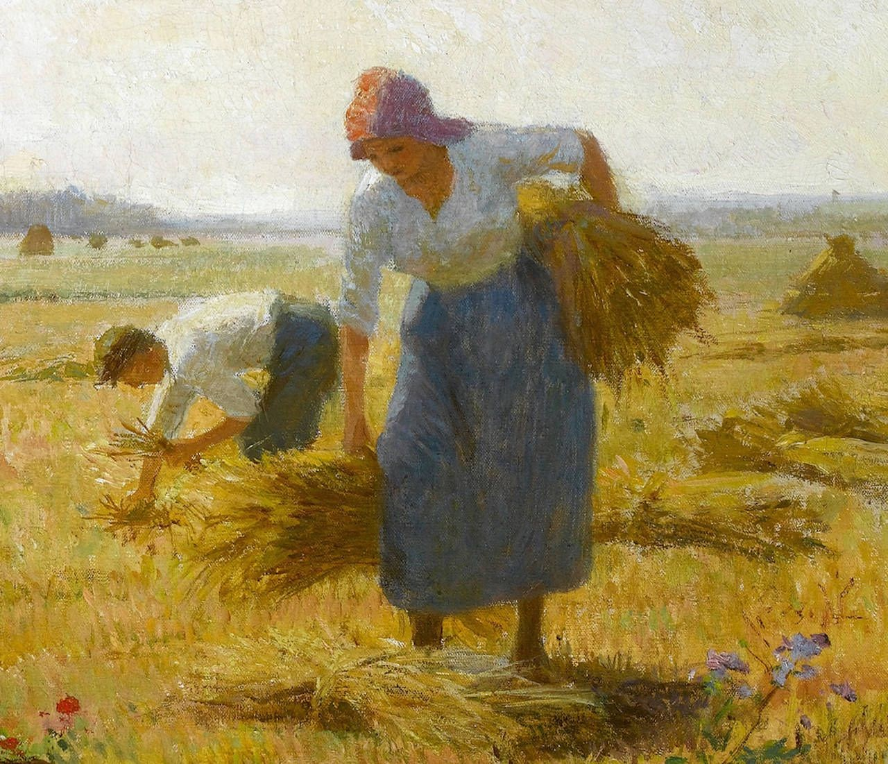 Victor Gabriel Gilbert The Harvest