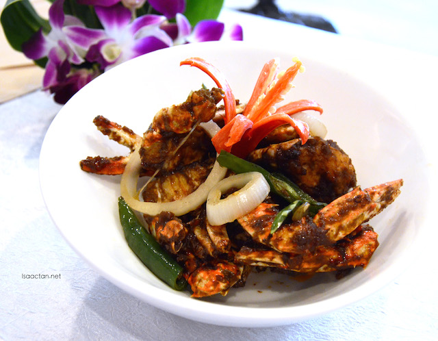 Another variation of the crab dish