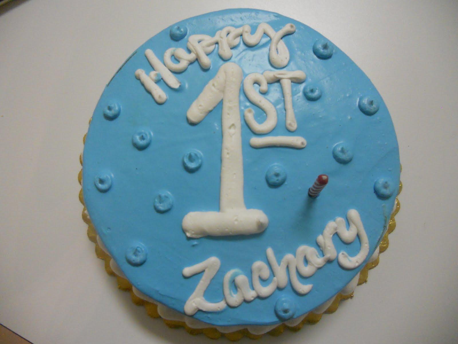 The Robbins Family Happy 1st Birthday Zachary
