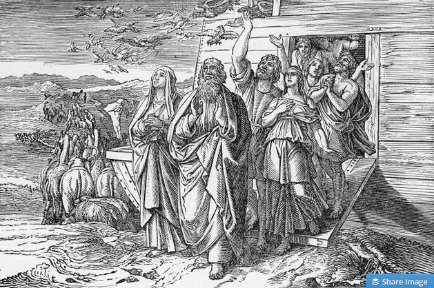 Noah Leaving the Ark - from Religion in the Home (Part 1)