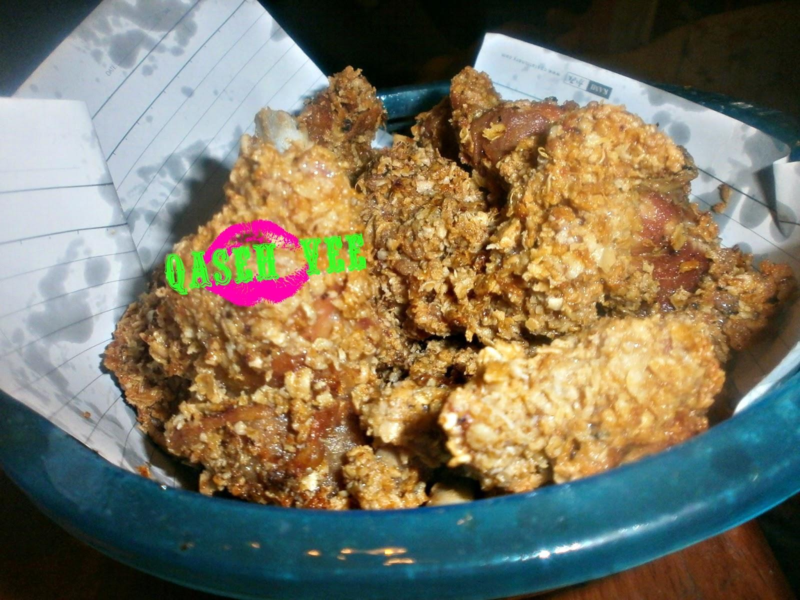 Ayam Goreng Bersalut Oat