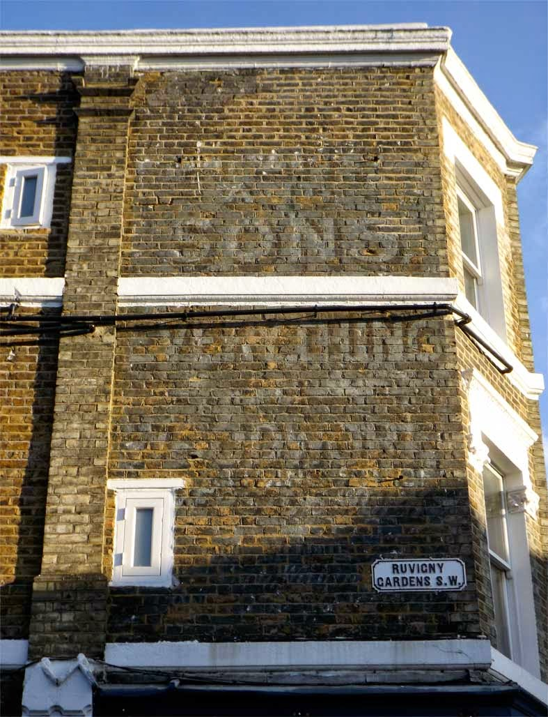 putney woodwork ghost sign