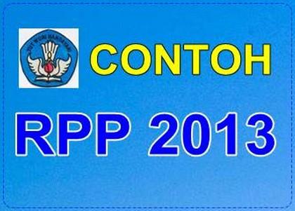 Contoh Rpp Silabus Kurikulum Pendidikan Dasar 2013 Kkg Pai Sidoarjo