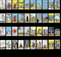 cartas de tarot con sistema propio