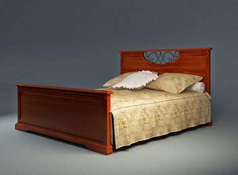 موديلات 3d لسرير النوم وأشكال مختلفة