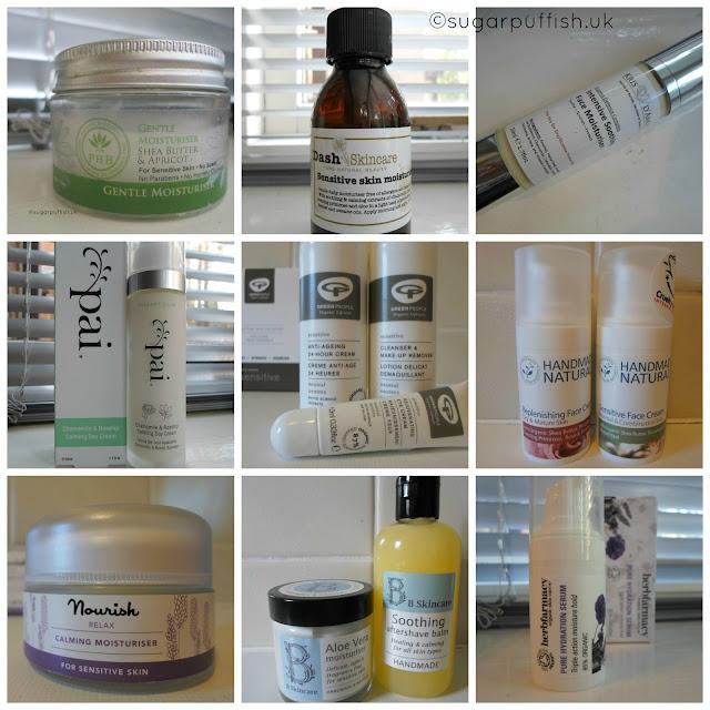 Chosen by Sugarpuffish 16 natural and organic facial moisturisers face cream