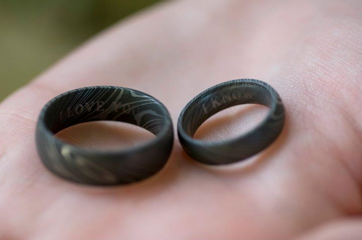 Super Punch: Han and Leia's wedding bands, perhaps