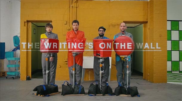The Writing's On The Wall - OkGo - videoclip