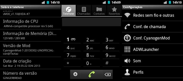CyanogenMod 7 AROMA ( NÃO OFICIAL ) PT-BR