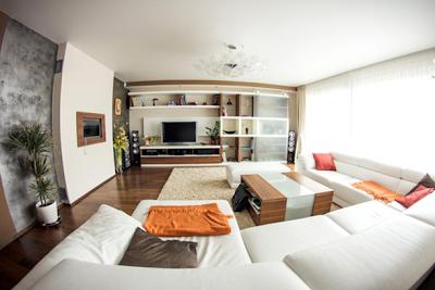 sala apartamento moderno