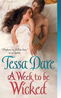 Book Cover A Week to be Wicked by Tessa Dare