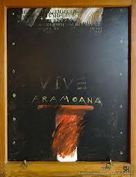 Aramoana - by Ralph Hotere