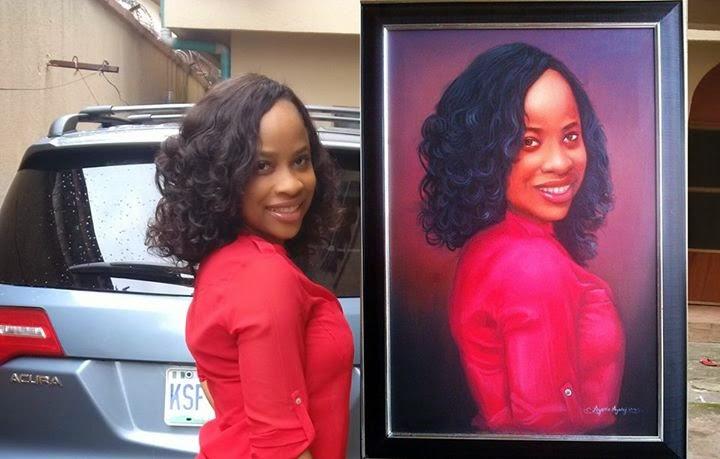 Achigbu Uzoma Portrait Painting Step By Step By Ayeola Ayodeji