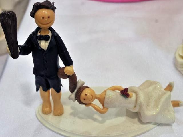 Gnvision - Bolos de casamento engraçados e criativos - casamento das cavernas