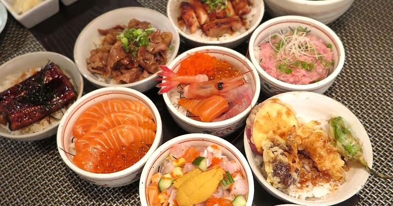 中環 - AMAZAKE - 超超超抵吃的日式迷你丼午餐。$180任選三款