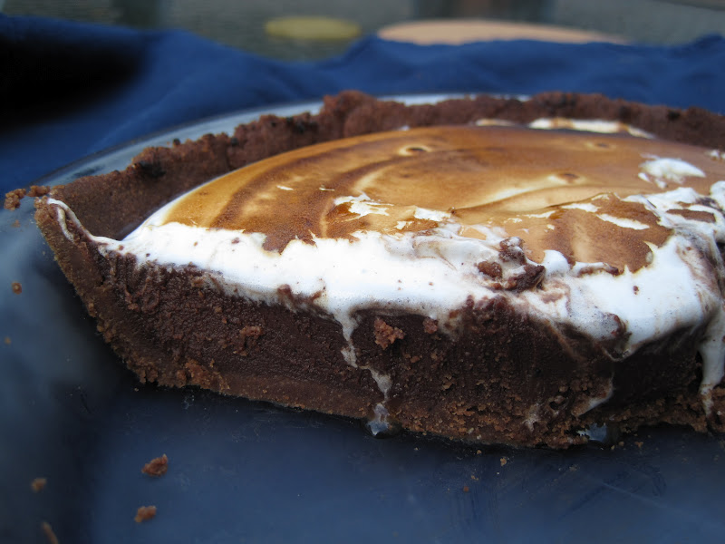 So in addition to Rice Krispies Treats , we made Coffee S'mores Pie .