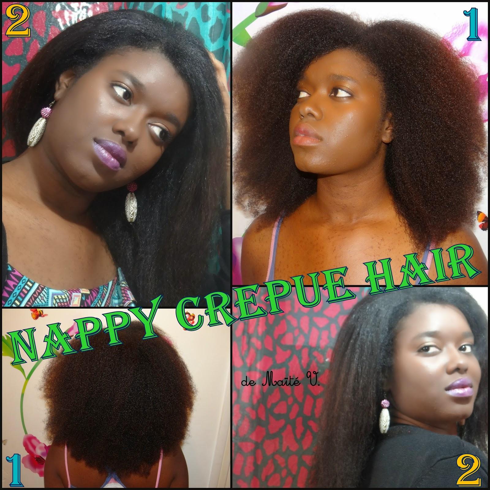 cela fait plus dun an que jai les cheveux naturels mais il y a quelques temps jai craqu jai voulu absolument voir o en tait mes cheveux au - Lissage Naturel Fait Maison