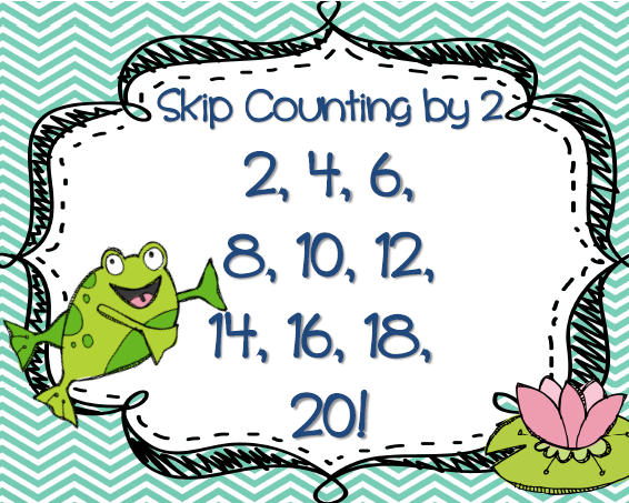 Skip Counting By 2s Practice Chart Picture Pictures