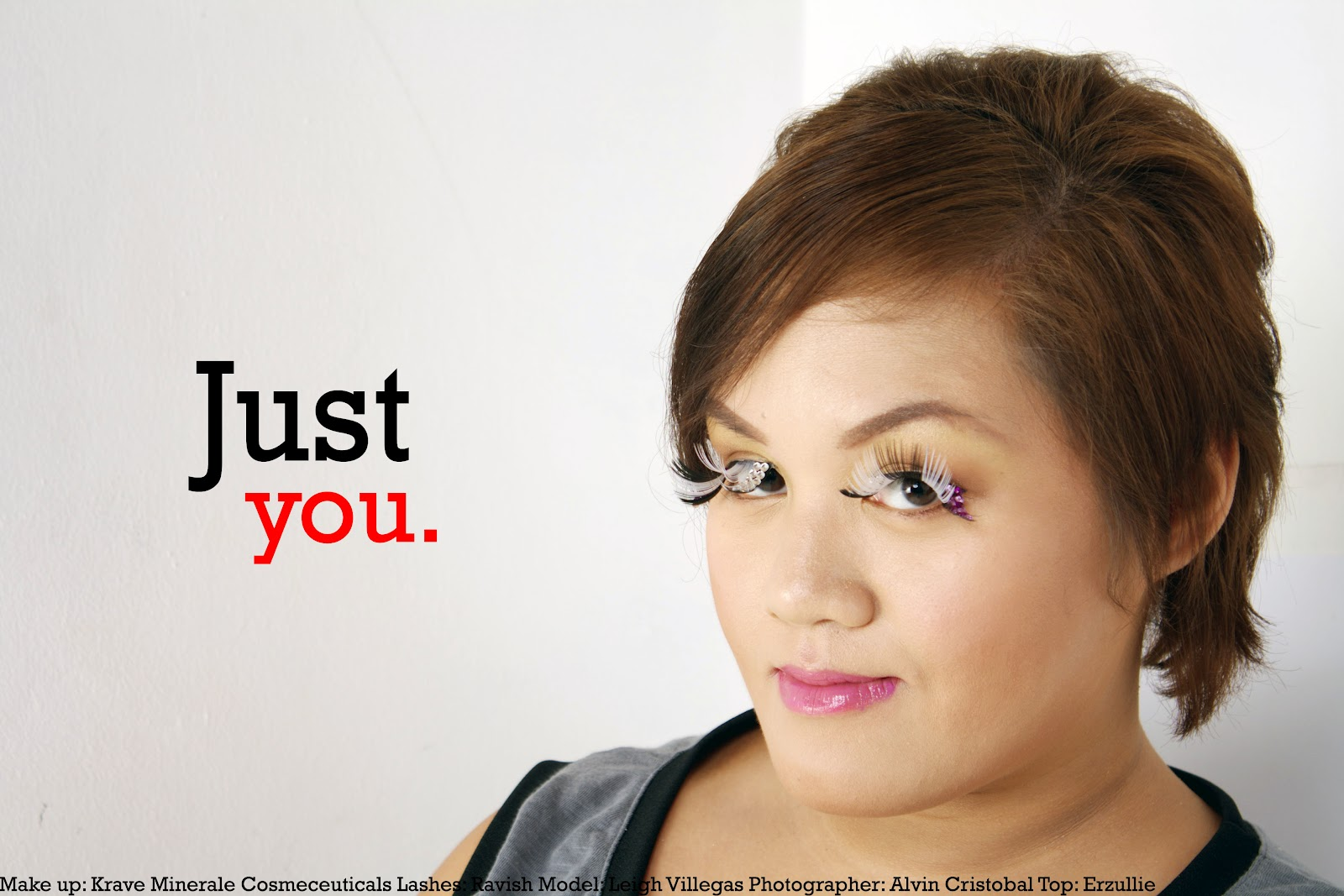 "ERZULLIE ICONS IN ""JUST YOU"" BEAUTY EDITORIAL! 