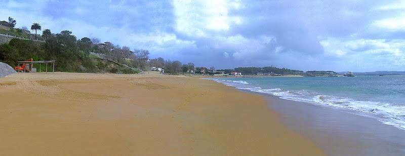 Playa de los Peligros en Santander