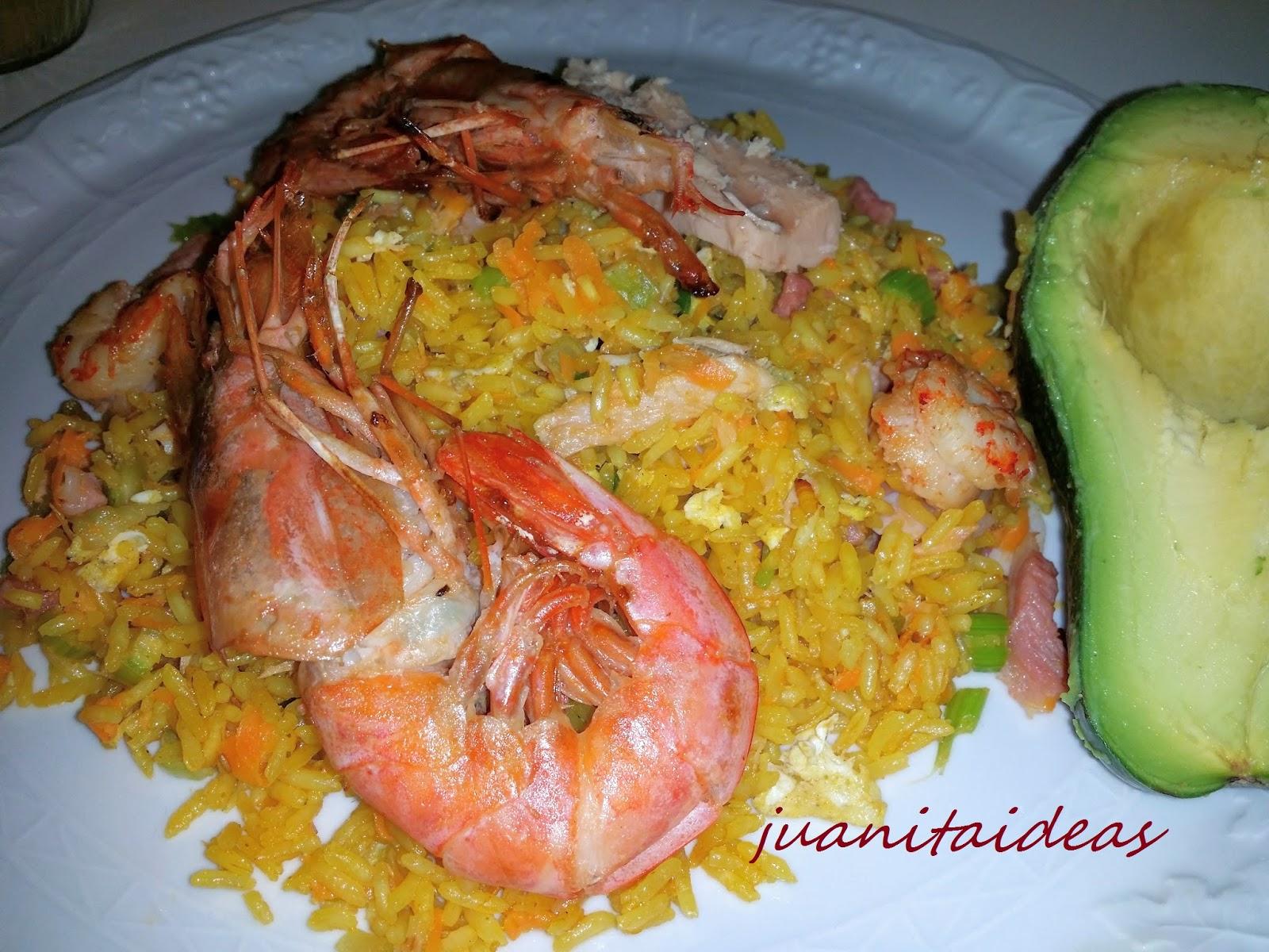 Juanita ideas para el hogar recetas con arroz for Decoracion de comida