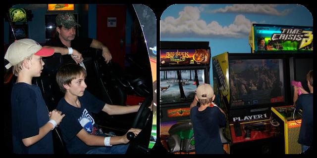 Boys playing games at Mountasia Collage