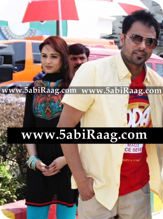 Mandy Takhar With Amrinder Gill HD Wallpaper - 2012