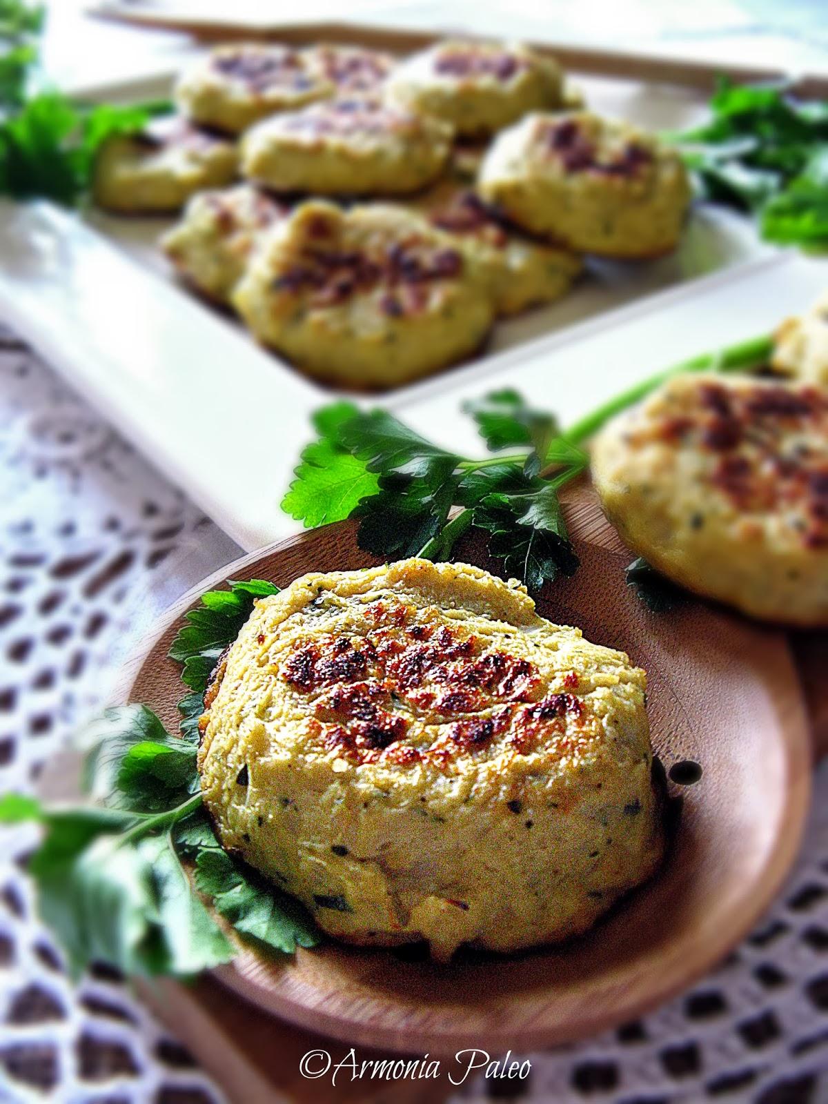 Pulpetti tal-Pastard - Frittelle di Cavolfiore alla Maltese di Armonia Paleo