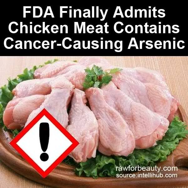 FDA Finally Admits Chicken Meat Contains Cancer-Causing Arsenic
