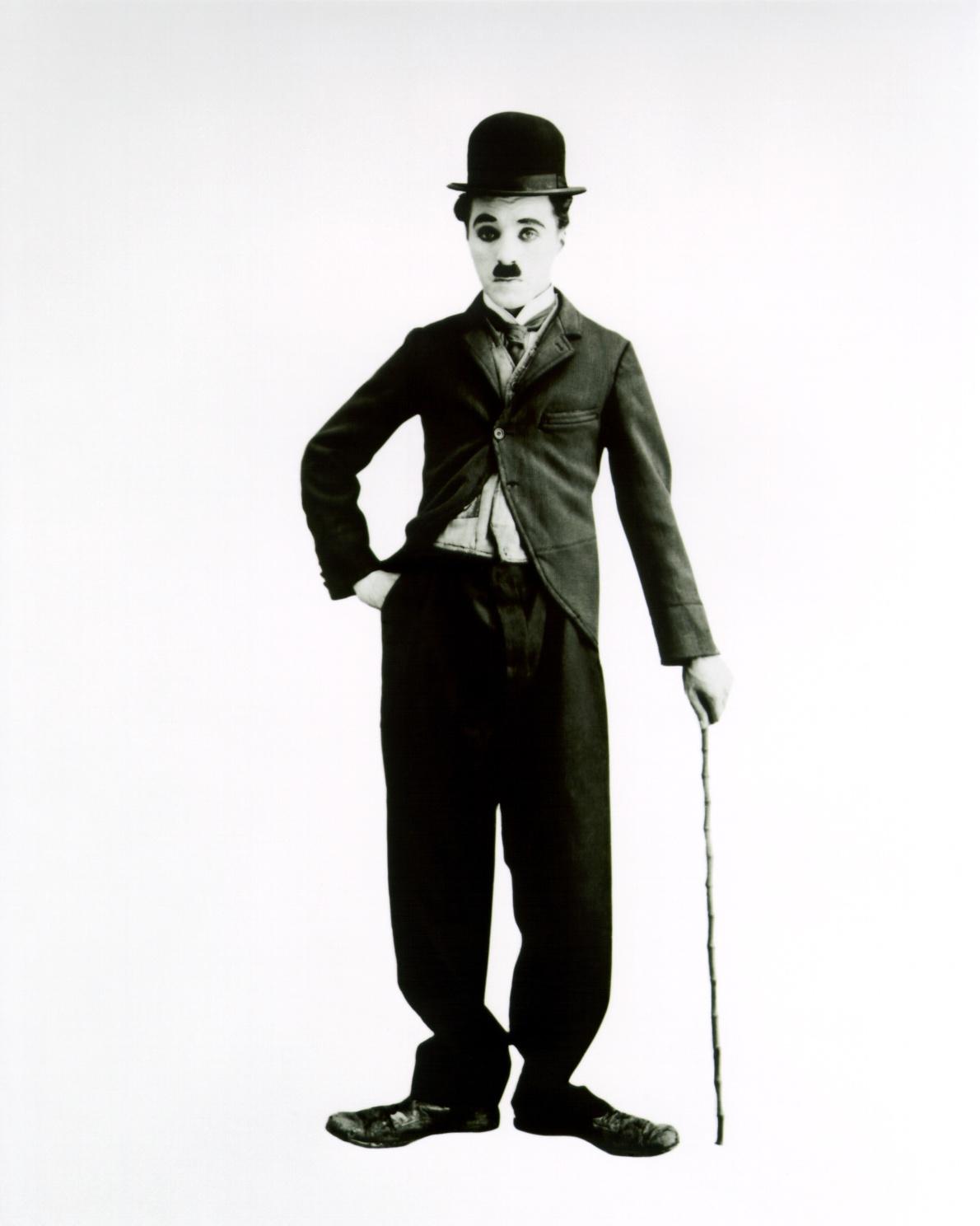 Charlie Chaplin as The Tramp