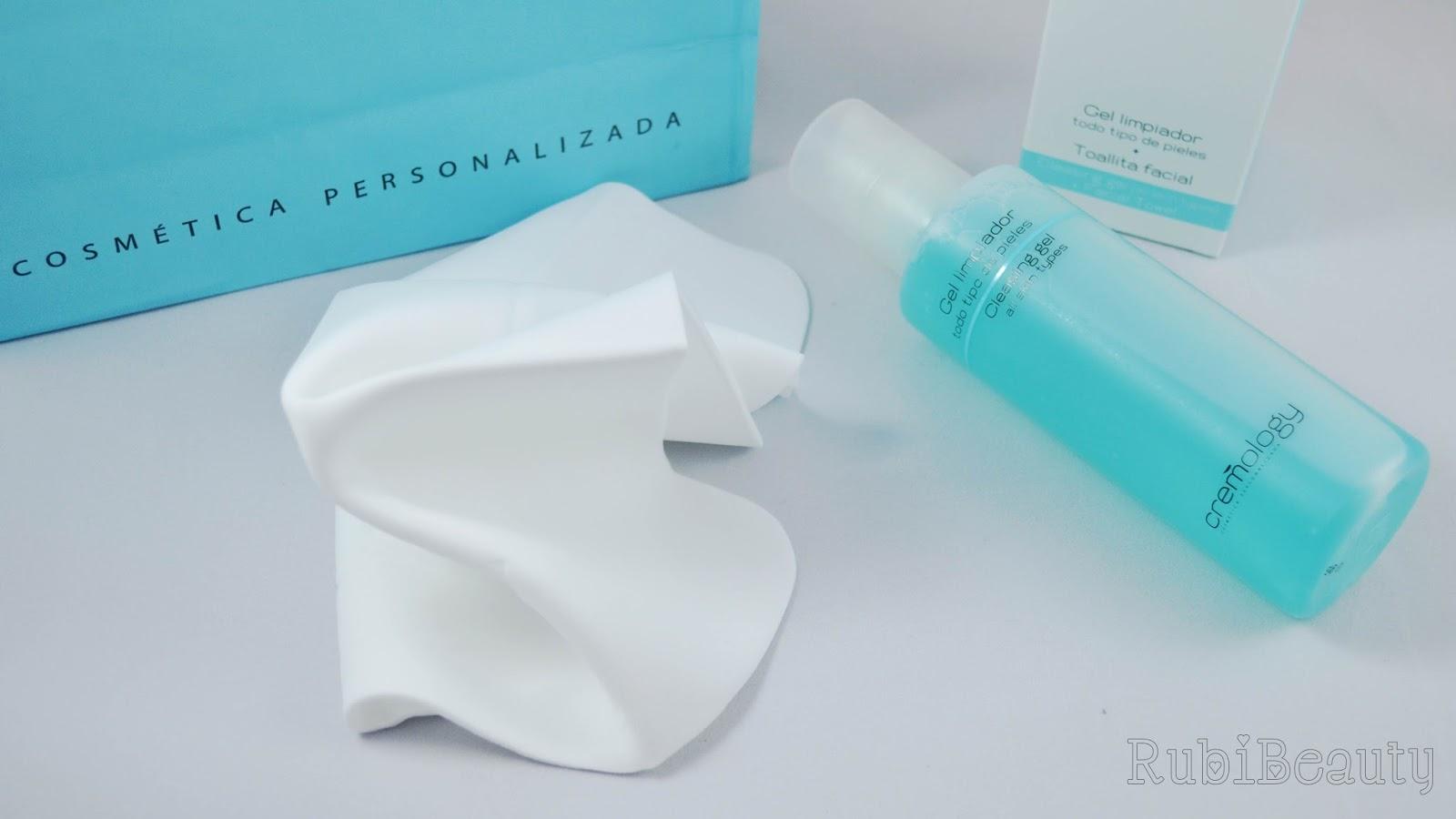 rubibeauty review opinion cremology gel limpiador rutina facial personalizada