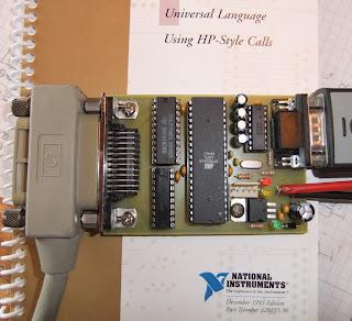 GPIB RS232 AVR