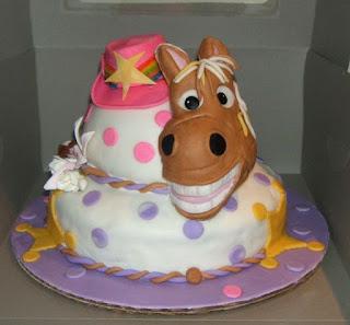 Bánh sinh nhật hình ngựa đẹp
