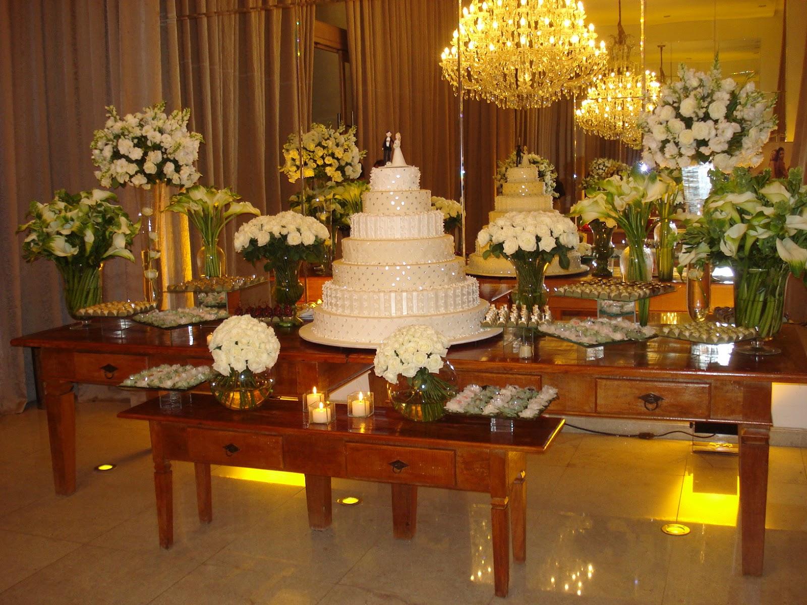 Decoração de casamento Decoração de mesas de casamento ideias