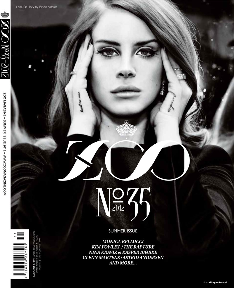Lulalulera´s World: Lana del Rey en Zoo Magazine #35 - photo#15