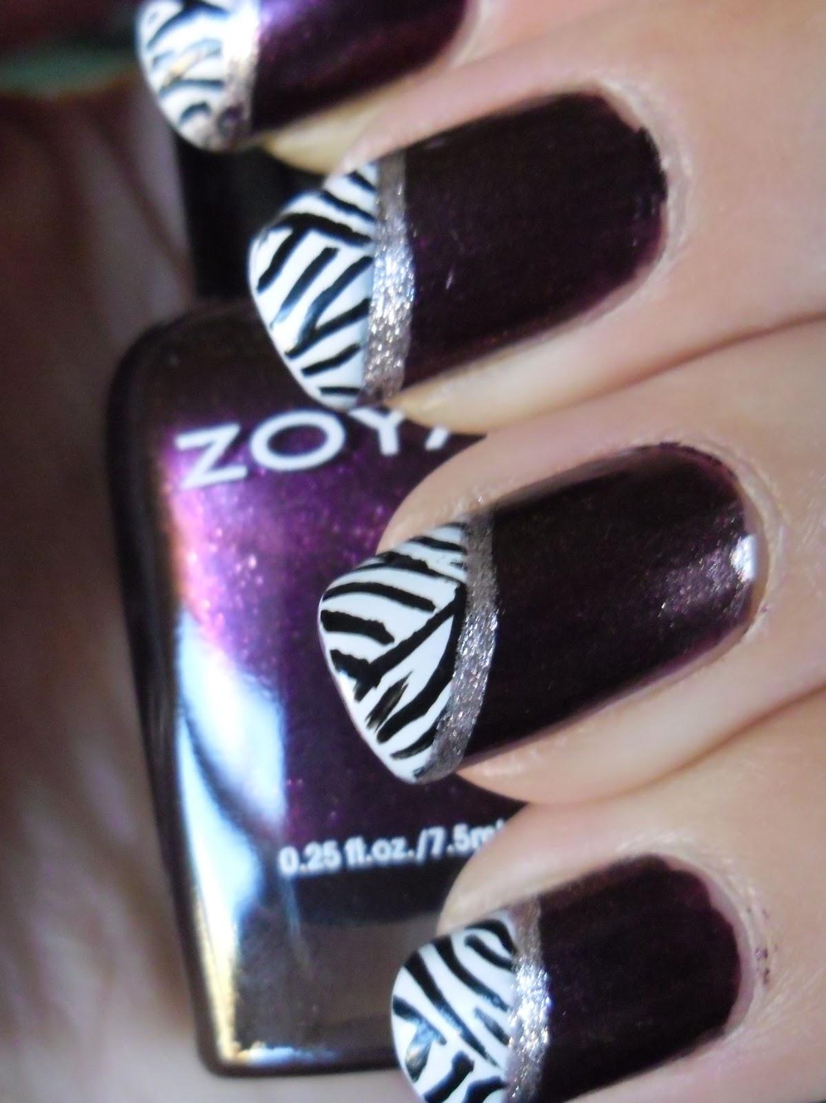 More zebra nails