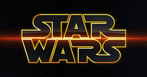 Logo for the Star Wars franchise.