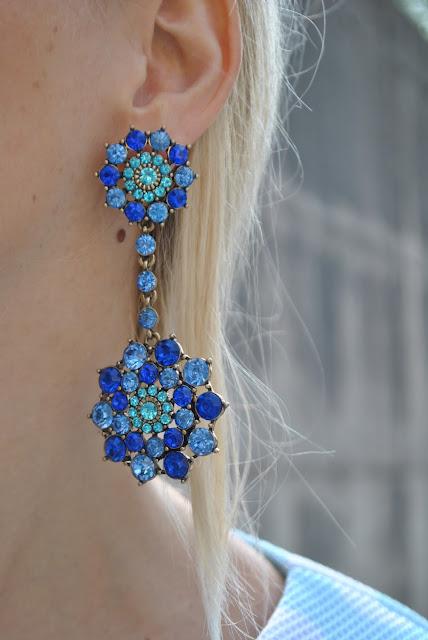 orecchini pendenti orecchini blu orecchini happiness boutique come abbinare gli orecchini blu abbinamenti orecchini blu orecchini estivi orecchini pendenti summer earrings blue earrings