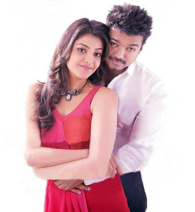 Vijay and Kajal Agarwal Hot Stills in Thuppakki