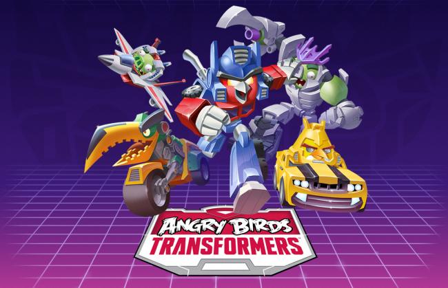 La nueva aventura de los pájaros de Rovio: Angry Birds Transformers