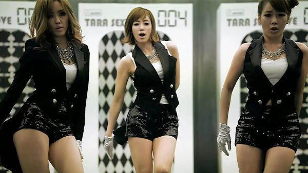 T-ara Eunjung Sexy Love