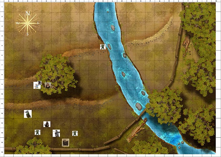 Combat Map - Turn 11