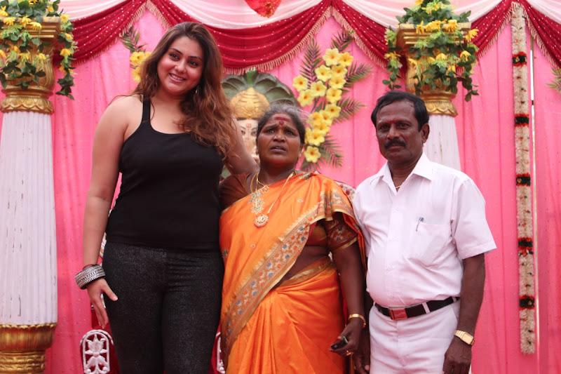 Namitha at JS Paradise Family Marriage Hall Launch Stills sexy stills