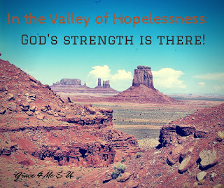 Hopelessness and lack of joy lead you further and further away from your first love, Christ. Lose the dry dusty bones and find that life giving water even in the valley. Join me in my favorite Bible Story and the lessons you can learn about using God's power even in the valley.  | Grace 4 Me & U