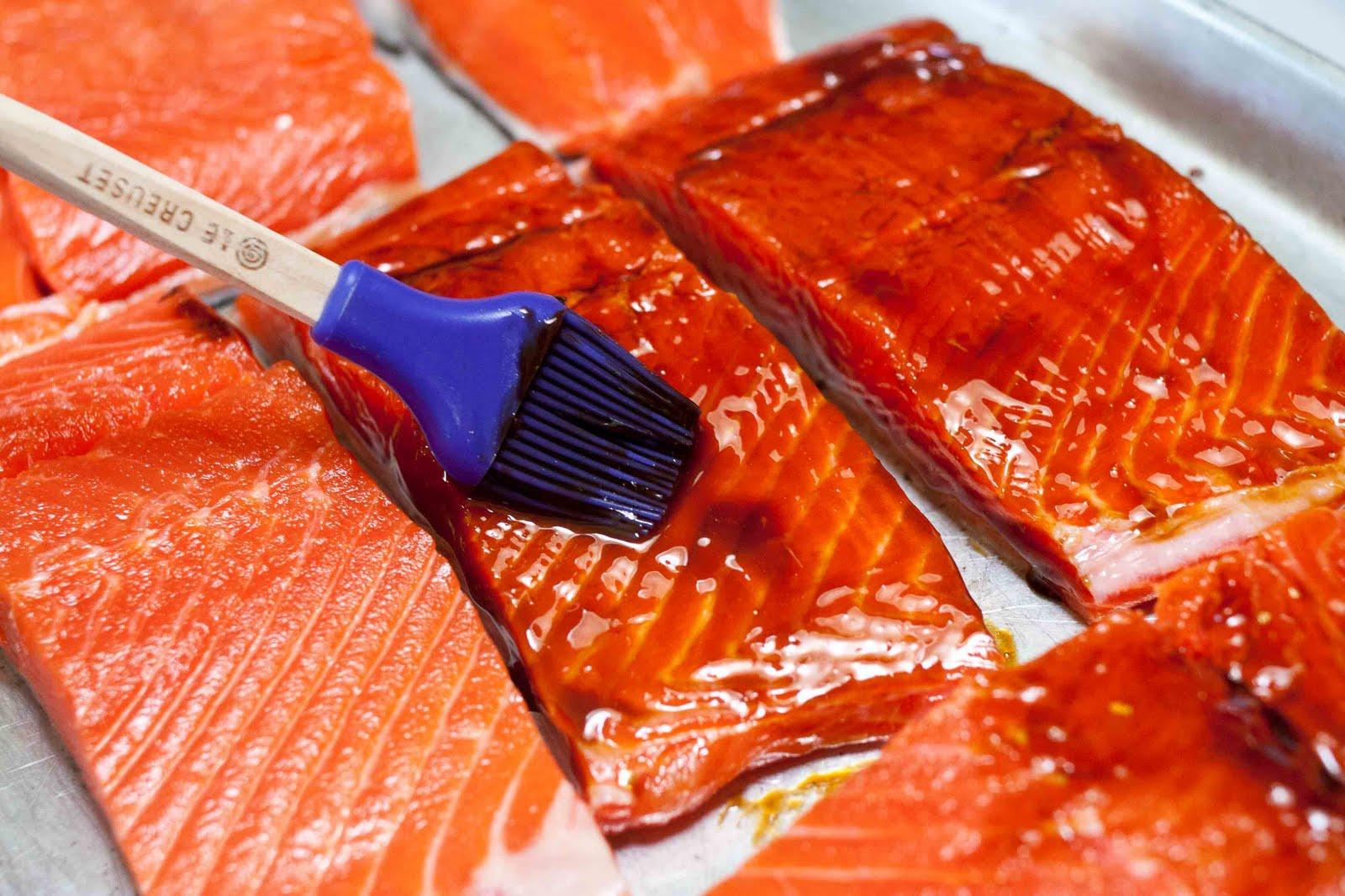 FOODjimoto: Grilled Salmon with Wasabi Mayo & Furikake