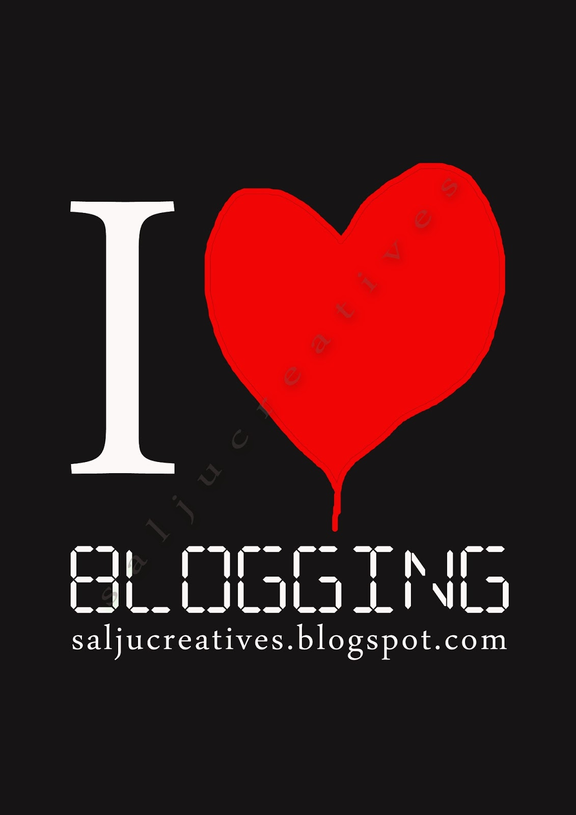 "CONTEST 1: ""I LOVE SALJU CREATIVE"""