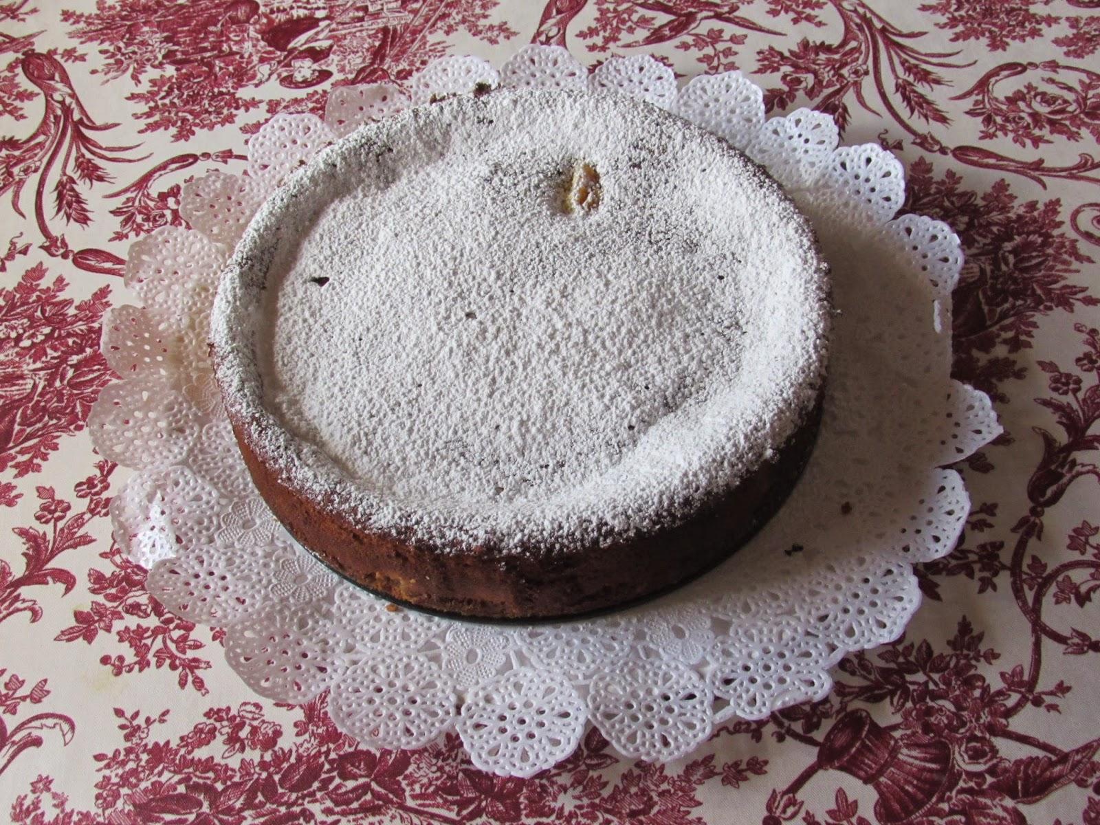 Tarta de manzana a la crema, receta
